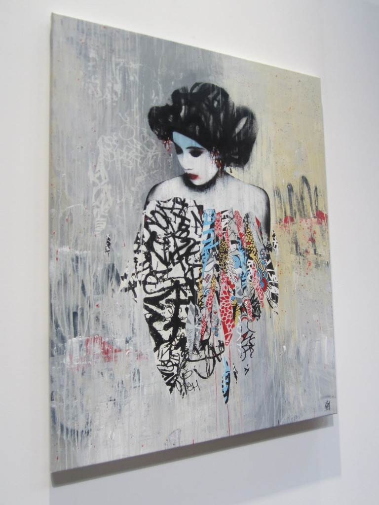 Hush original artwork at Moniker 2012