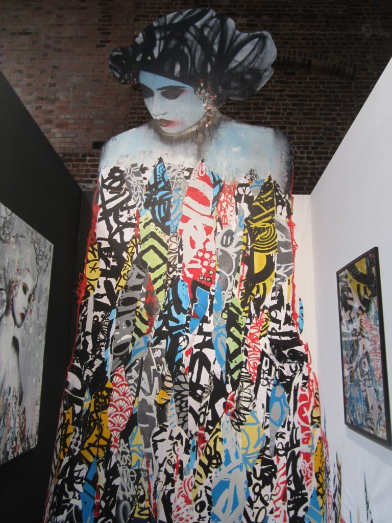 Hush Geisha installation at Moniker 2012