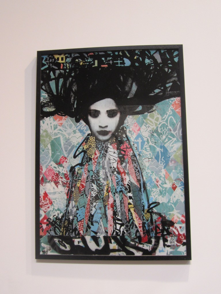 Hush print at Moniker 2012