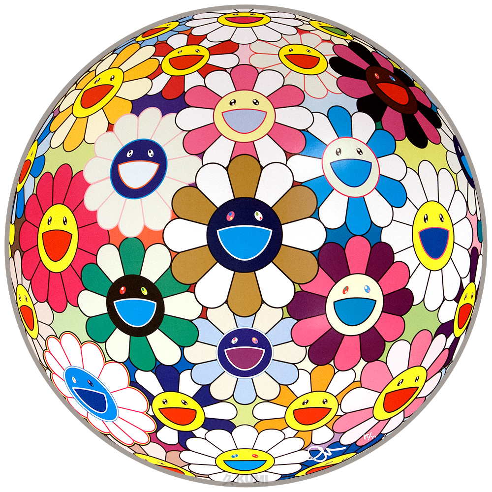 TAKASHI MURAKAMI Flower Ball (Autumn)