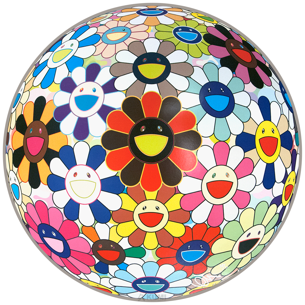 Takashi Murakami Flower Lots of Colors