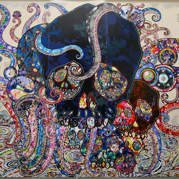 Takshi Murakami The Octopus Eats Its Own Leg MCA Chicago