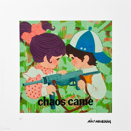 Chaos Came Print by Lady Aiko
