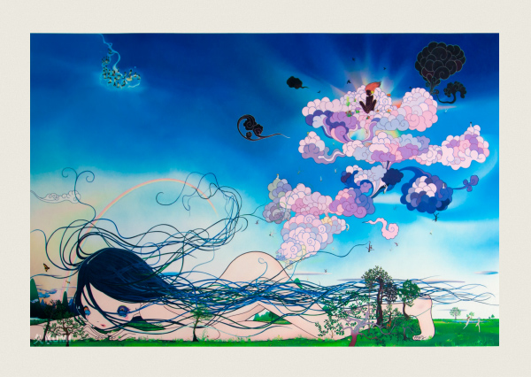 Divine Gas Special Edition Print by Chiho Aoshima
