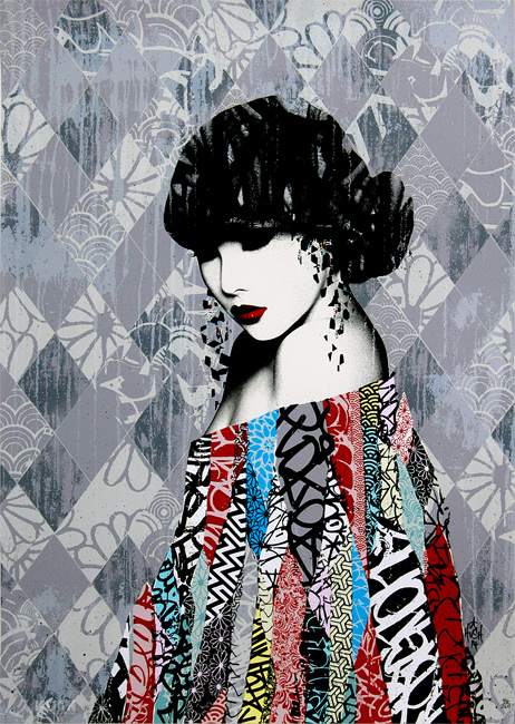 Rouge 2 Print by Hush