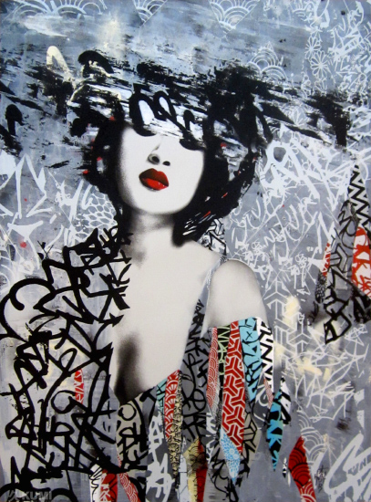 A Street Piece Named Desire Print by Hush