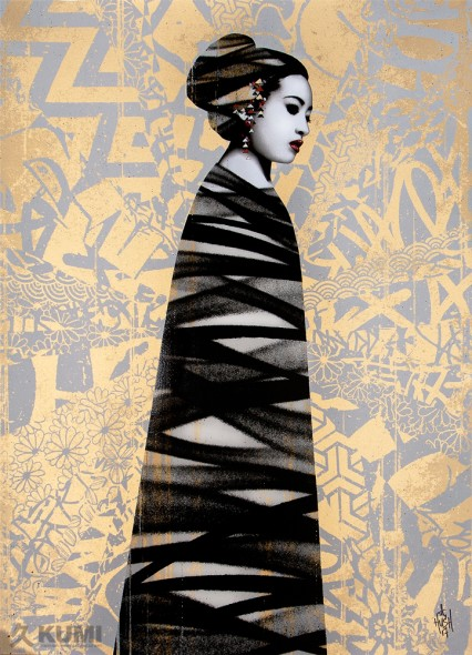 Asiatic (Artist Proof) Print by Hush