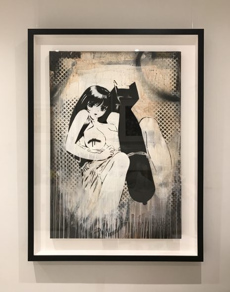 Dirty Bomb Original on Canvas Print by Hush