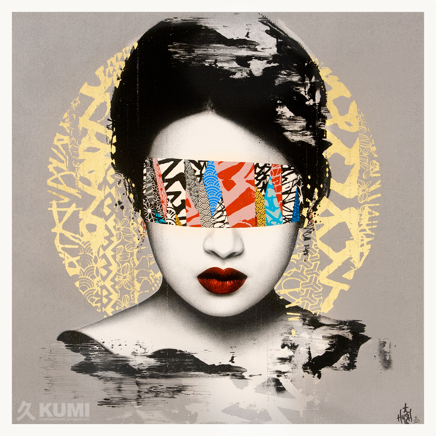 Halo - Grey Print by Hush