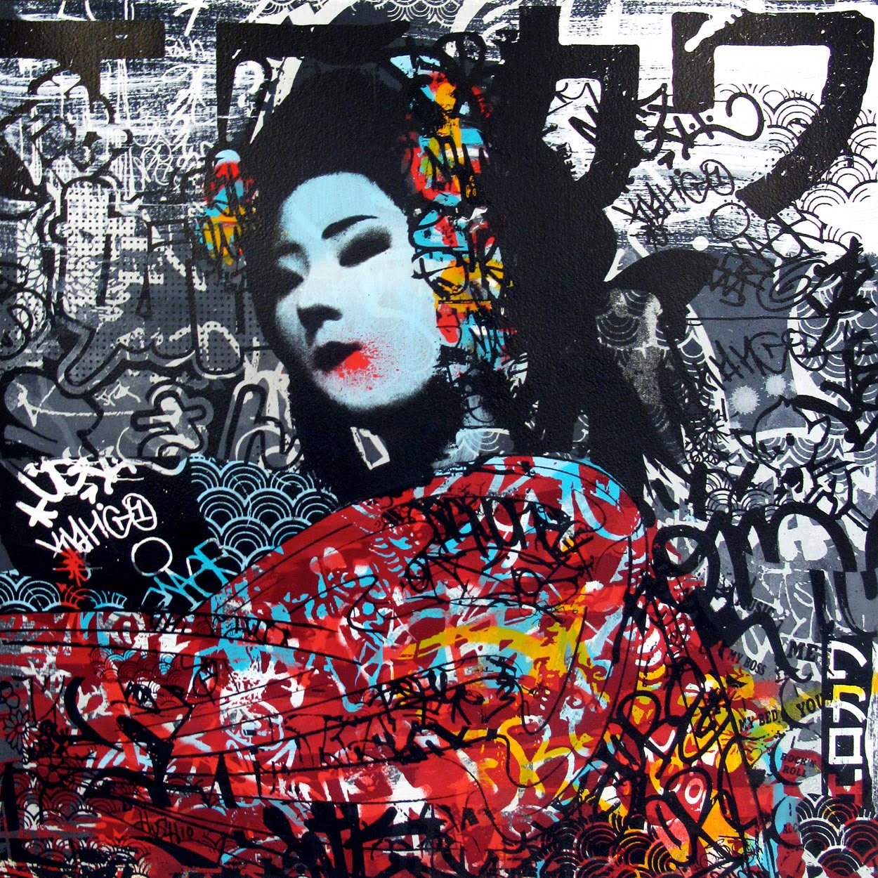 If I Was Today (framed) Print by Hush