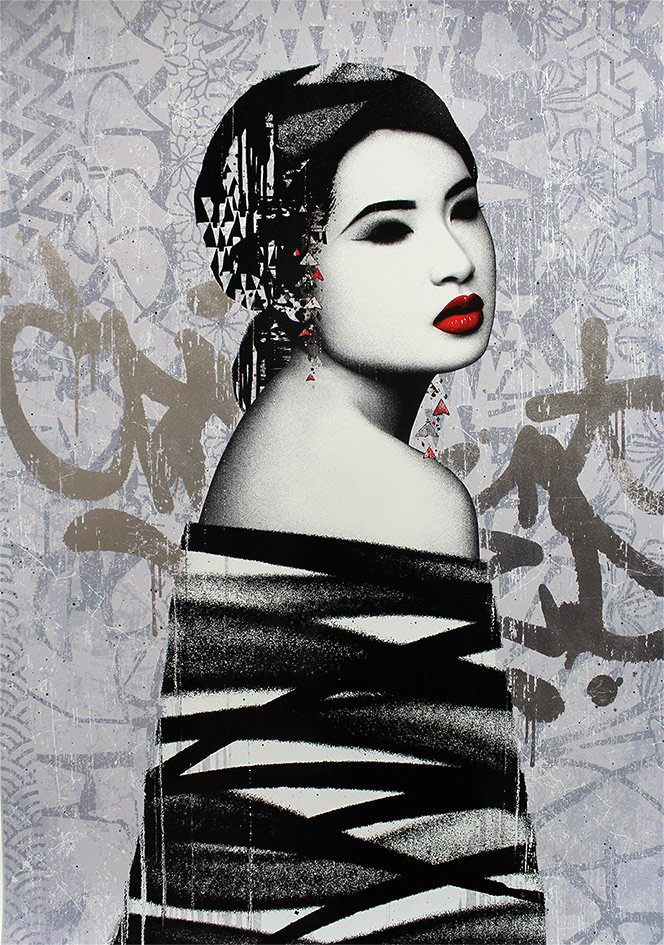 Retroversion (Artist Proof) Print by Hush