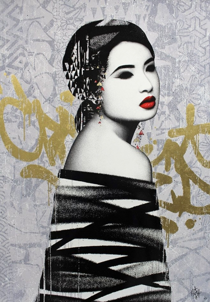 Retroversion Print by Hush