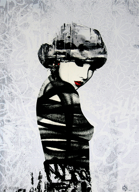 Rouge 1 Print by Hush