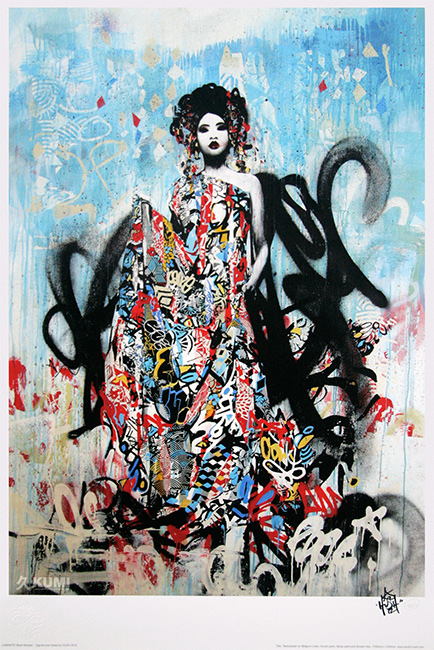 Seductress Print by Hush