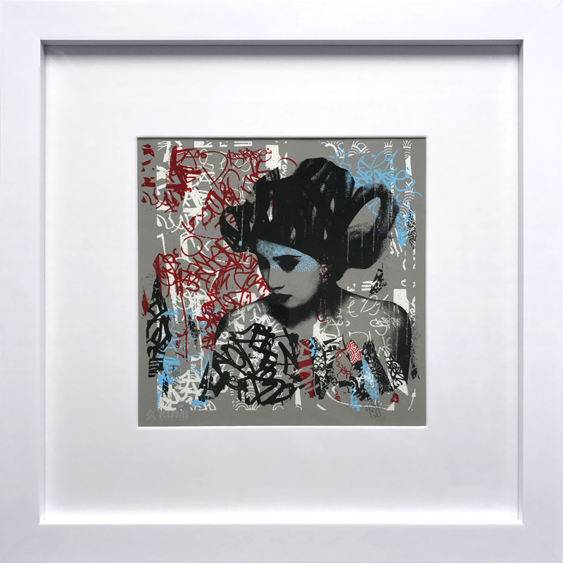 Siren In Motion (Moniker) Artist Proof Print by Hush