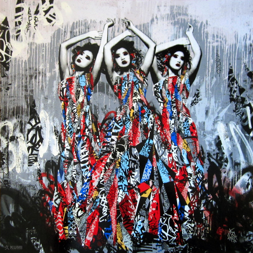 The 3 Sirens (AP) Print by Hush