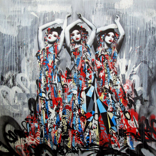 The 3 Sirens Print by Hush