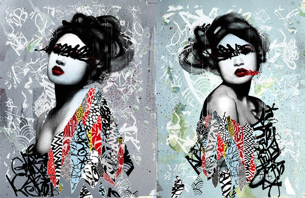 Unseen 1 / 2 Print by Hush