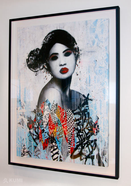 Unseen II Original Artwork Print by Hush
