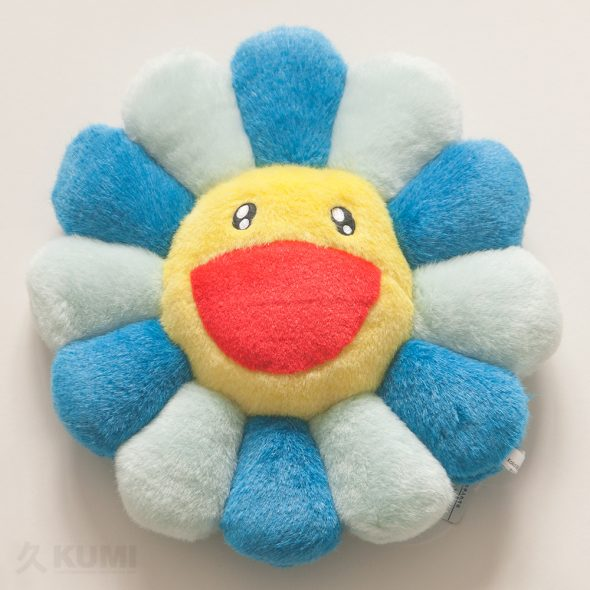 Medium Blue Flower Cushion Original by Takashi Murakami Shop