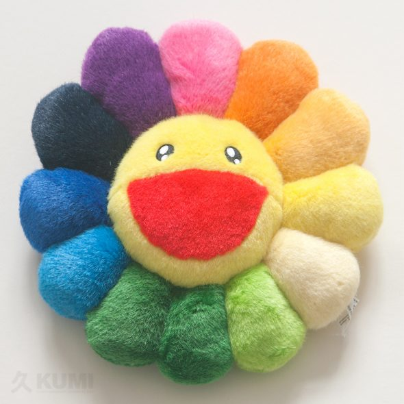 Medium Rainbow Flower Cushion Original by Takashi Murakami Shop
