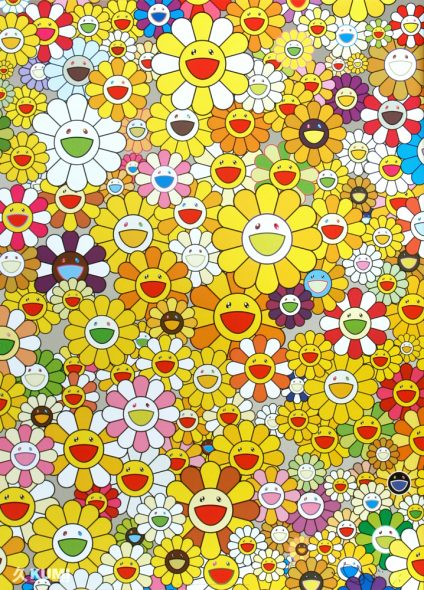 An Homage to Mono Gold 1960 Print by Takashi Murakami