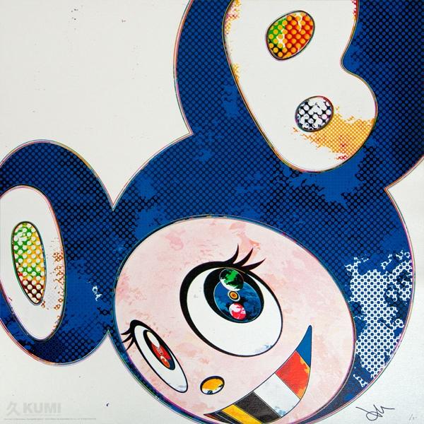 Takashi Murakami And Then x6 Marine Blue