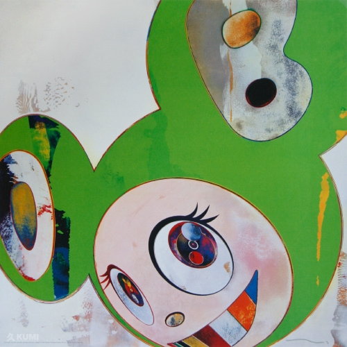 And Then Kappa (Green) Print by Takashi Murakami