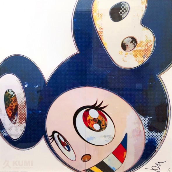 And Then x6 Blue Print by Takashi Murakami