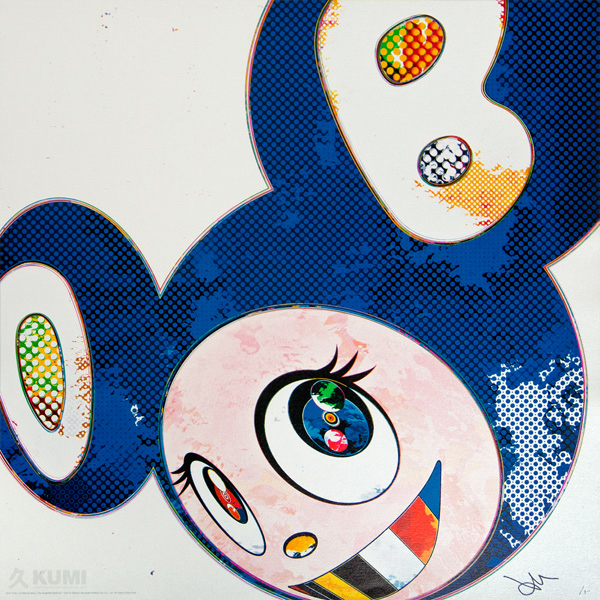 Takashi Murakami: And Then x6 Marine Blue