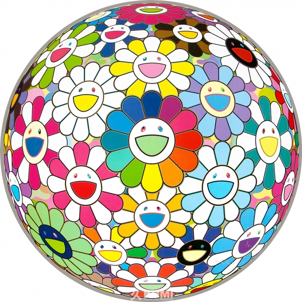 Flower Ball (I Want to Hold You) Print by Takashi Murakami
