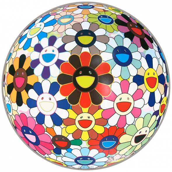 Flower Ball (Lots of Colors) Print by Takashi Murakami