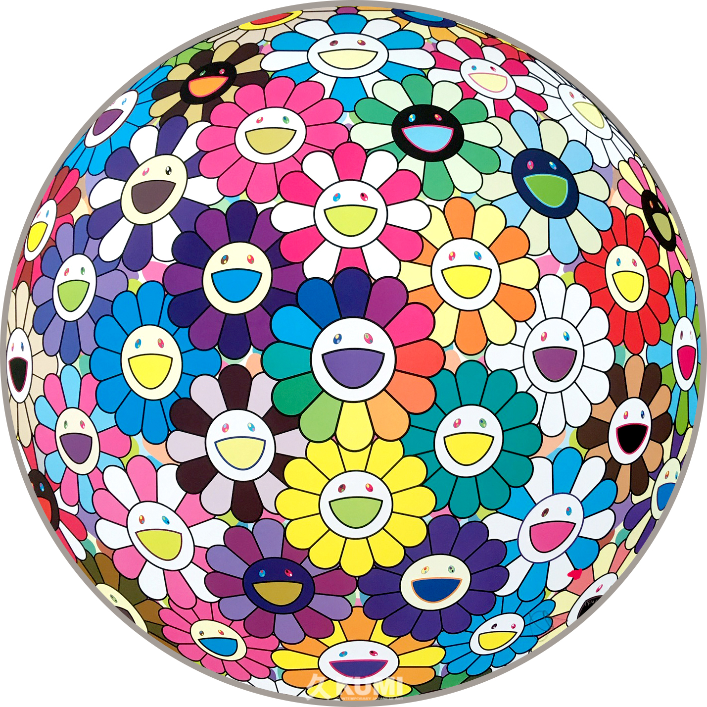Takashi Murakami: Flower Ball (Multicolor Thoughts on Matisse)