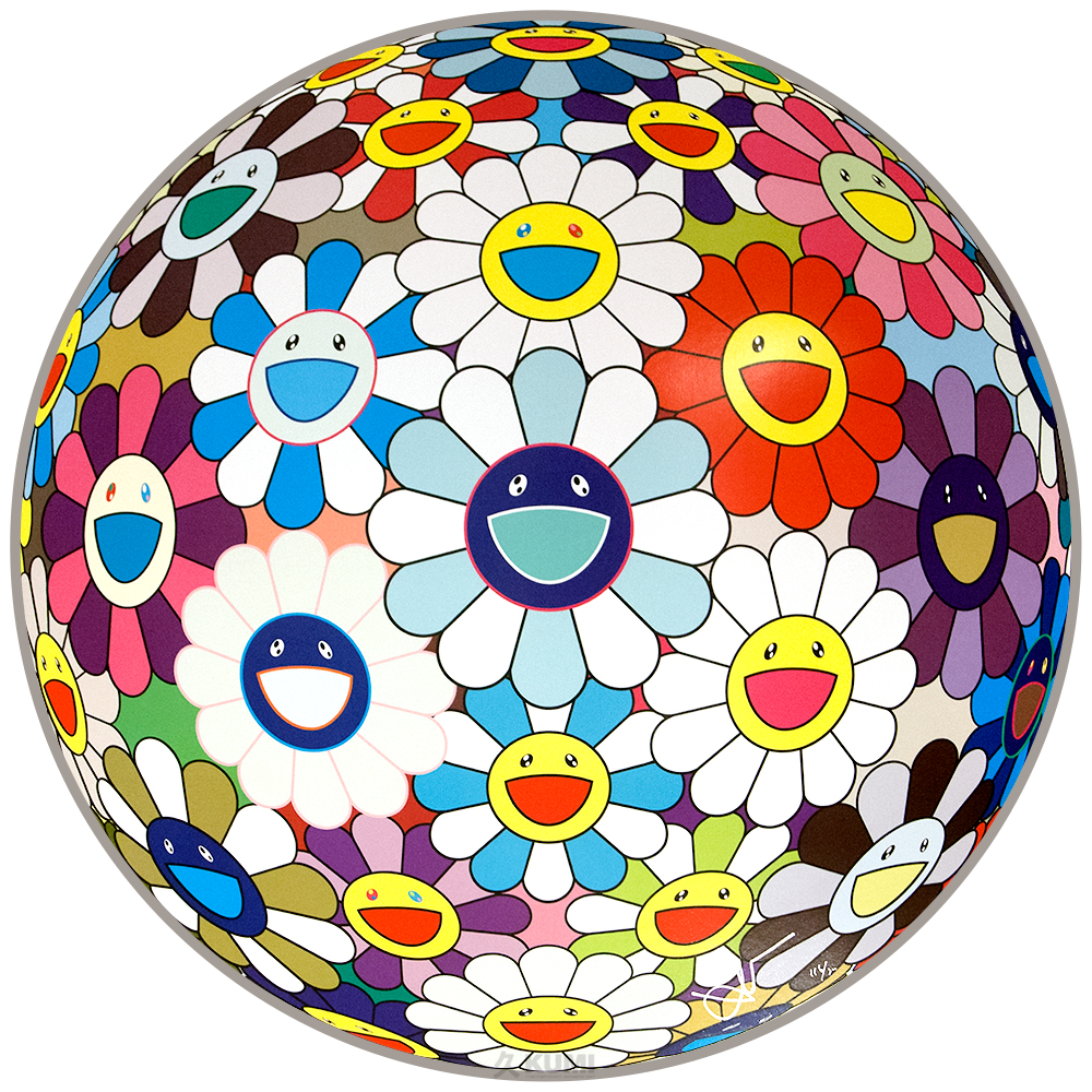 Takashi Murakami: Flower Ball (Sequoia Sempervirens)