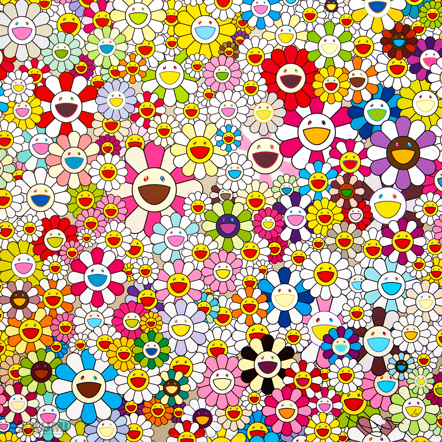 Takashi Murakami: Flowers Blooming in This World and the Land of Nirvana, 4