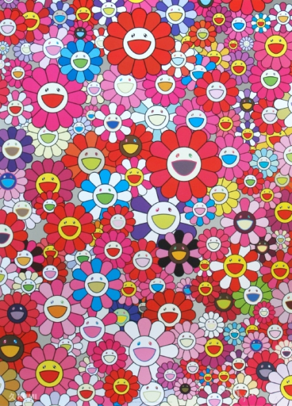 An Homage to Mono Pink 1960 Print by Takashi Murakami