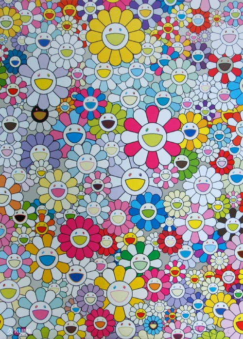 Takashi Murakami An Homage to Yves Klein Multicolor