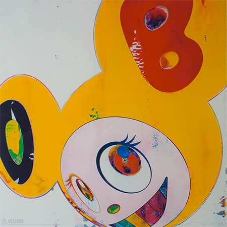 Yellow Jelly DOB Print by Takashi Murakami
