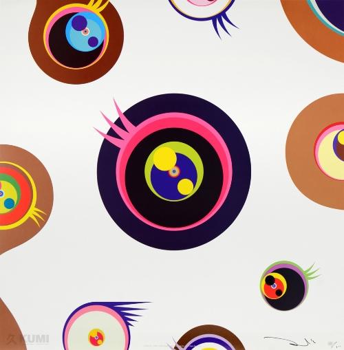 Takashi Murakami Jellyfish Eyes - White 1