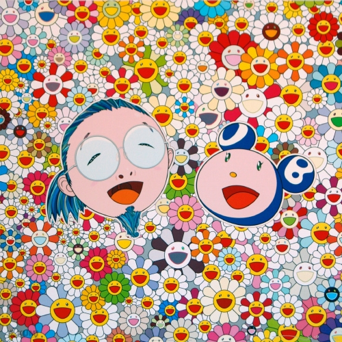 Kaikai Kiki and Me - Me and Mr. DOB Print by Takashi Murakami