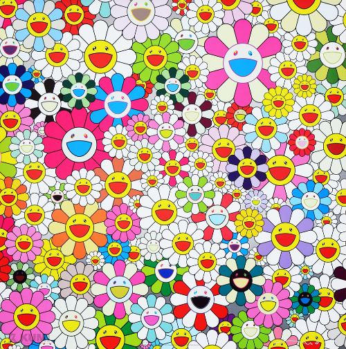Takashi Murakami: Maiden in the Yellow Straw Hat