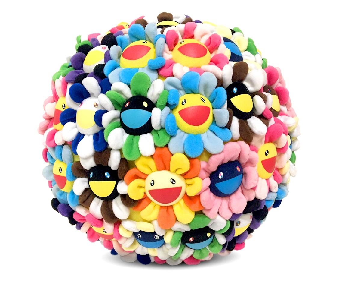 TAKASHI MURAKAMI Plush Flowerball 400mm