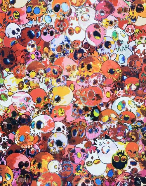 Takashi Murakami Skulls MCRST 1962