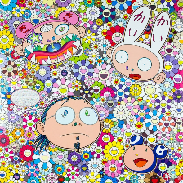 The Creative Mind Print by Takashi Murakami
