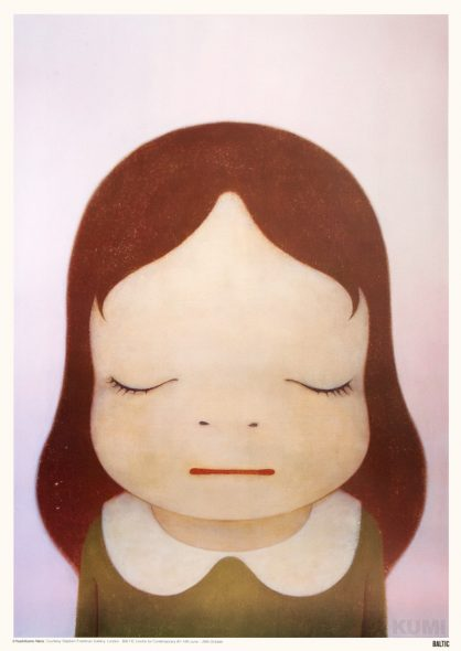 Cosmic Girl, Eyes Shut Print by Yoshitomo Nara
